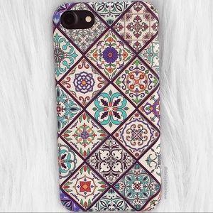 ❤️SALE❤️ Purple paisley iPhone 6/6s 7 Plus X case